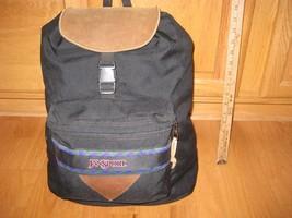 Jansport leather bottom backpack - $26.39