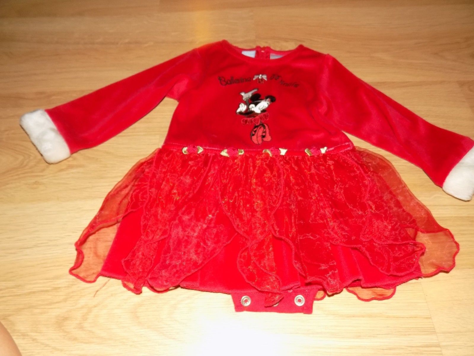 Minnie Mouse Christmas Dress.Size 18 Months Disney Ballerina Minnie Mouse And 44 Similar