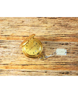 Colibri Gold Plated Pocket Watch with Date Swiss Made - $225.00