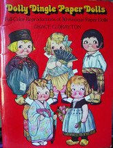 1978 Dolly Dingle Reproduction Paper Doll Book By Grace G Dayton - $5.99