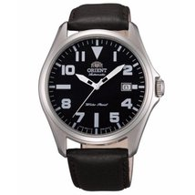 Orient Men's Classic ER2D009B Brown Leather Automatic Watch - $143.55