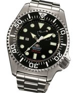 Orient Pro Saturation Dive Watch Power Reserve and Sapphire Crystal EL02... - $1,469.35