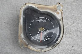 1969 69 FORD MUSTANG BOSS 302 ALTERNATOR GAUGE WITH GLASS USED OEM - $54.45