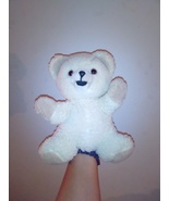 Vintage 10 inch plush snuggle hand  puppet 1986 - $14.95