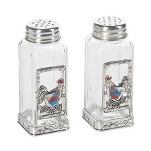 Rooster Glass La Cucina Salt and Pepper Shaker Set - $24.00