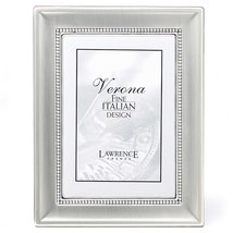 Lawrence Frames Metal Picture Frame Two-Tone Silver-Plated, 5 by 7-Inch - $19.99