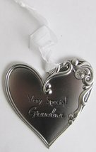 Loving Hearts Ornament - Very Special Grandma - $10.99