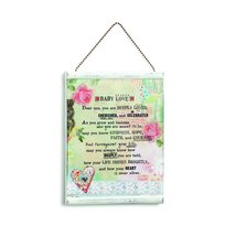 DEMFU Baby Message Wall Plaque - €20,35 EUR