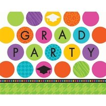Colorful Commencement Invitation - $16.99