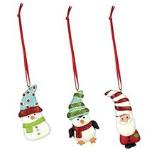 Grasslands Road Mini Dough Clay Ornaments Set of 9 - $14.99
