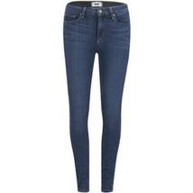 Paige Hoxton Ultra Skinny Women Jeans Elegant Fashion Stretch-Cotton indigo Blue - $43.56