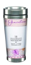 4 Generations Double Walled Photo Travel Mug - Ganz Insulated Travel Mug - $18.99