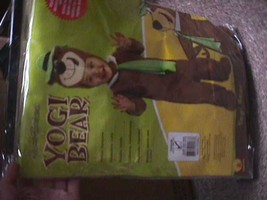 Little Boys Infant / Toddler Yogi Bear Costume Toddler 1-2 NEW - $34.16