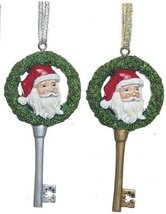 Santa's Key - Keepsake Holiday Ornament - $9.99