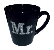 Ganz Funny Guy Mug MR. Rhinestone Black Mug - $15.99