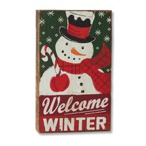 Demdaco Welcome Winter Wall Art - $16.99