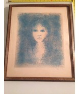 Bill McCauley : Original Hand Signed Lithograph / Study Of Young Girl - $89.10