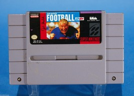 John Madden Football Super Nintendo Video Game Cartridge 1991 Electronic... - $11.98