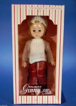 "Vintage 8"" Ginny Doll Sweater & Plaid Pants Vinyl Poseable Blonde 1978 - $9.90"