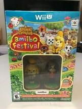 Animal Crossing Amiibo Festival [amiibo Bundle] (Nintendo Wii U, 2015) Brand New - $12.41