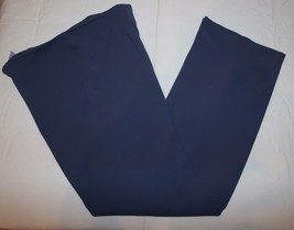 Votre Nom Sz 8 Womens Blue Dress Pants Flat Front - $27.73