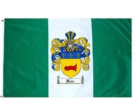 Sera Coat of Arms Flag / Family Crest Flag - $29.99