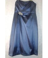 David's Bridal Women's Grey Strapless Special Occasion Dress - Size 10 - $22.27