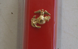 USMC US MARINE CORPS ALL RANKS E.M. ENLISTED & NCO GOLD NECK TIE SWEETHE... - $10.88