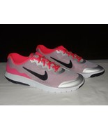NIKE Flex Experience 4 (GS) Girls Youth Sz 7 New 749818 002 Silver/pink/... - $29.99
