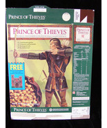 Robin Hood Prince Of Thieves Castle Vintage Cereal Box Flat Empty Box - $16.99