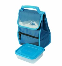 Arctic Zone Insulated Lunch Bag  Food Container  ICE  BLOCK INCLUDED - $14.01