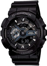 Casio G-Shock Ana-digi World Time Black Dial Men's watch #GA110-1B - $303.44