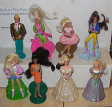 1994 Mcdonalds Happy Meal Toy Barbie Complete Set of 8 - $14.03