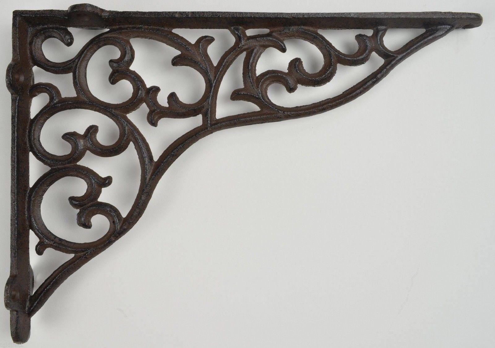 Wall Shelf Bracket Ornate Cast Iron Brace And 50 Similar Items