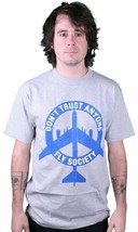 DTA Rogue Status Fly Society Hommes T-Shirt En Heather/Bleu Taille:S