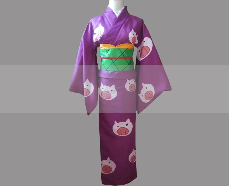 Gintama dekoboko arc female hijikata tenko cosplay kimono