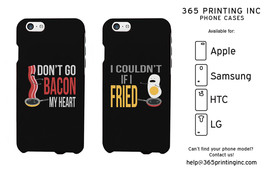 Bacon and Egg Phone Cases - iPhone 4-6+, Galaxy S3-S6 NOTE 4, HTC M8, LG G3 - $19.99