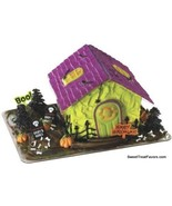Halloween House Mansion Decoration Party Supplies Monsters Skulls Cat Sc... - €10,98 EUR