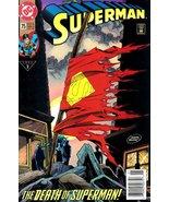 Superman #75 The Death of Superman First Printi... - $27.44