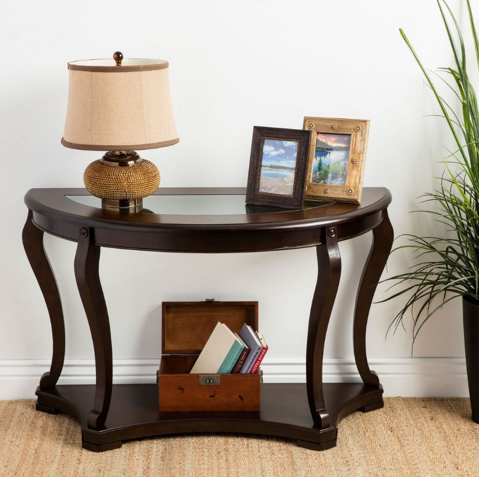 Foyer Storage Console Table : Console tables for entryway foyer table with storage