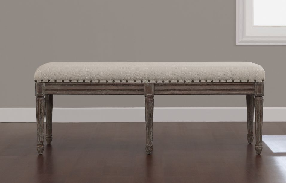 Foyer Settee Bed Bench : Benches for dining table upholstered bedroom armless