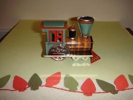 Hallmark 1998 Tin Locomotive 25th Anniversary Edition Ornament  - $9.49
