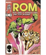 ROM: Spaceknight #72 November 1985 [Comic] Bill Mantlo and Steve Ditko - $2.97