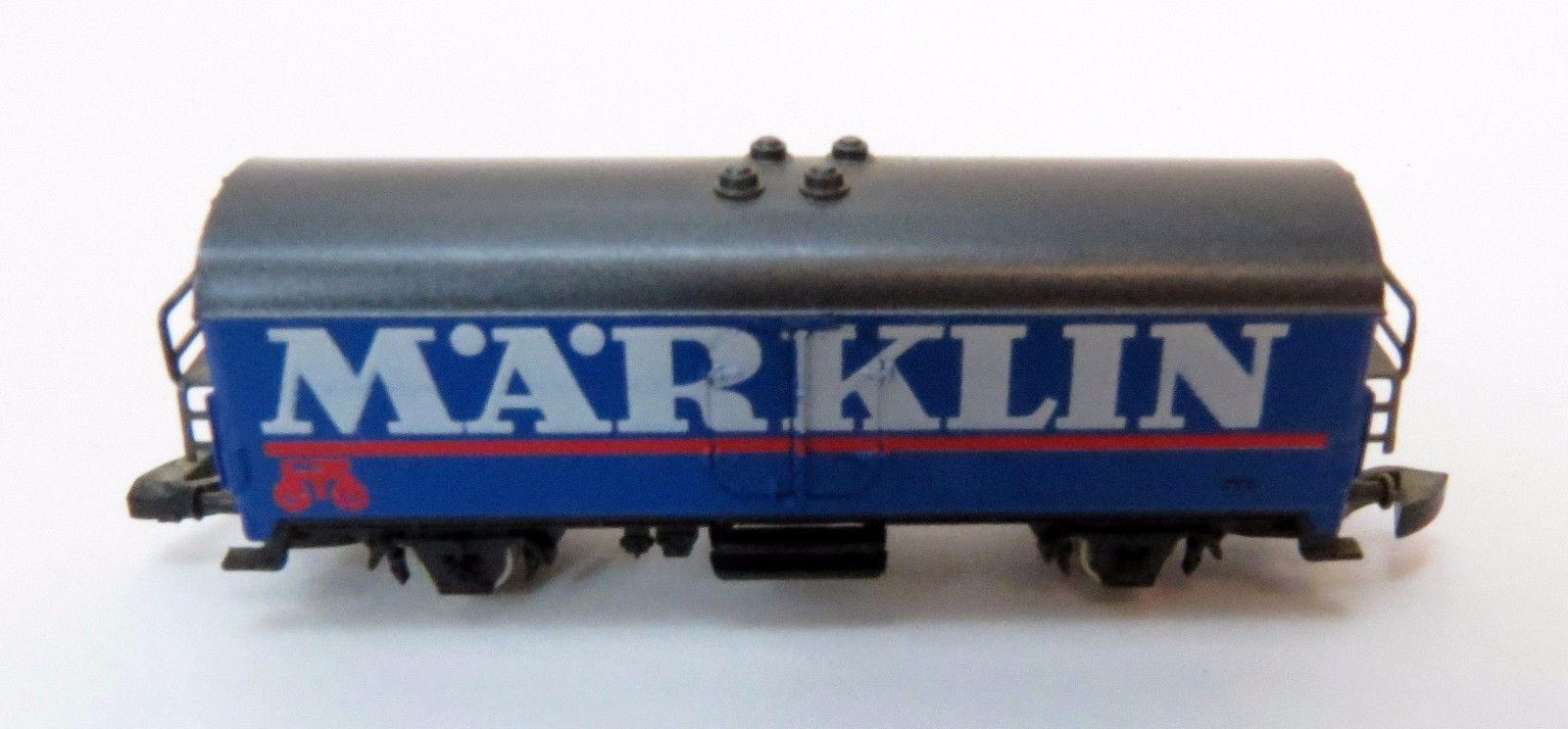 2451A Marklin Mini-Club Z Scale Train Blue Nostalgia Car-1 Car