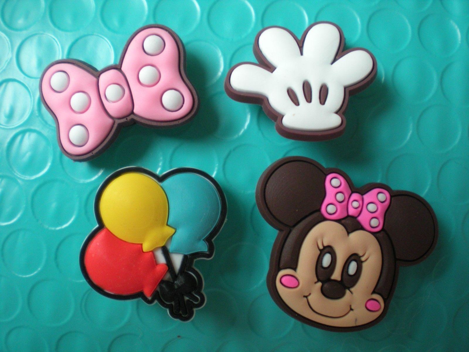Jewelry & Watches Clog Jibbitz Charm Plug Shoe Accessories Fit Wristband Mickey Minnie Mouse