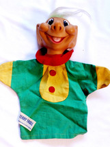 Vintage 1964 Knickerbocker Terry Troll doll toy hand puppet made in Japan - $29.70
