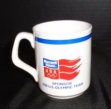 1988 Calgary Maxwell House USA Sponsor Team Coffee cup mug - $14.84