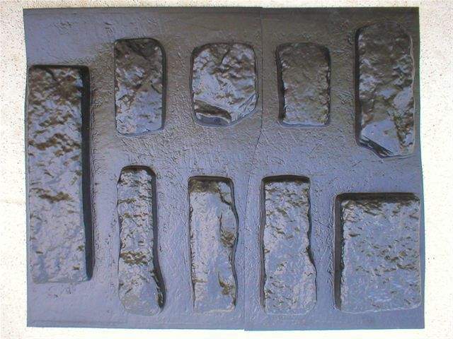 #OKL-01 Limestone Concrete Rock Molds(9) Make 100s Veneer Stone For Pennies Each