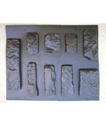 #OKL-01 Limestone Concrete Rock Molds(9) Make 100s Veneer Stone For Penn... - $99.99