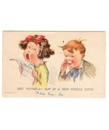 Twelvetrees Hey Victrola Children Girl Singing Vntg Smile Messengers Pos... - $4.99